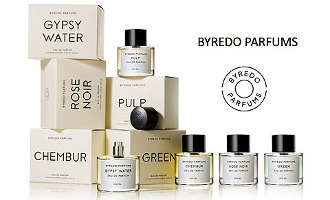 Byredo fragrance line