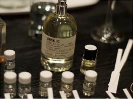 perfume class at Le Labo