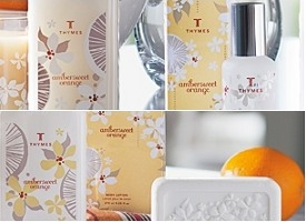 Thymes Ambersweet Orange fragrance