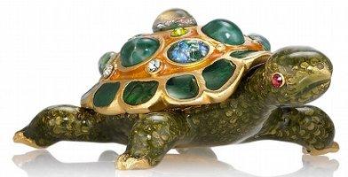 Estee Lauder Pleasures Treasured Turtle by Jay Strongwater