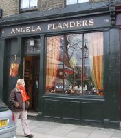 Angela Flanders, London, store exterior