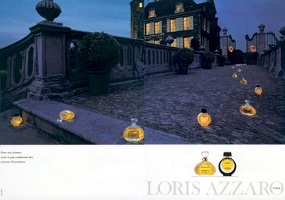 Loris Azzaro fragrance advert