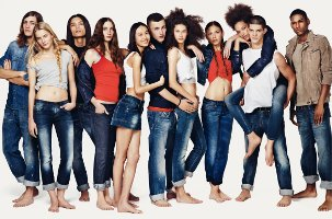 Benetton fashion, 2010