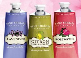 Crabtree & Evelyn Hand Therapy collection