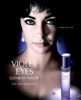 Elizabeth Taylor Violet Eyes perfume advert