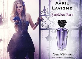 Avril Lavigne Forbidden Rose perfume