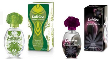 Gres Cabotine Green Summer & Cabotine Moonflower perfumes