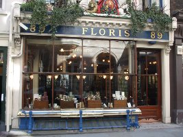 Floris on Jermyn street, store exterior
