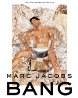 Marc Jacobs Bang fragrance advert