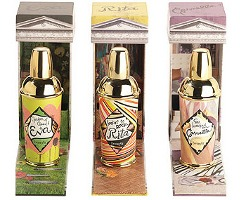 Benefit Garden of Good & Eva, Lookin to Rock Rita and So Hooked on Carmella fragrances