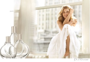 Pure DKNY fragrance advert