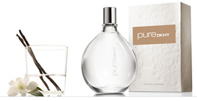 Donna Karan Pure DKNY perfume packaging