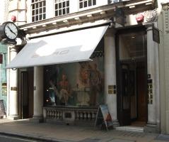 Etro London boutique, store exterior