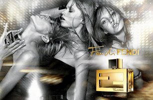 Fan di Fendi perfume advert