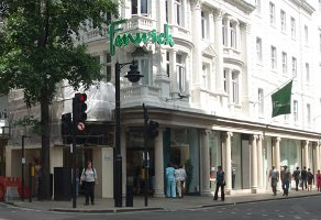 Fenwick, London, store exterior