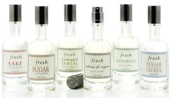 Fresh perfume line