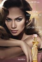 Jennifer Lopez Love and Glamour fragrance advert