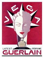 Guerlain Vega, vintage advert