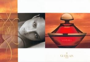 Guerlain Samsara perfume advert
