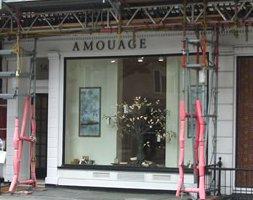 Amouage London boutique, store exterior