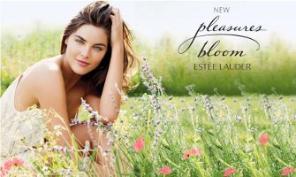 Estee Lauder Pleasures Bloom advert