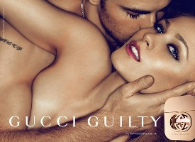 Gucci Guilty perfume advert