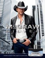 McGraw Silver cologne for men