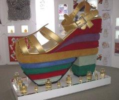 giant Ferragamo shoe