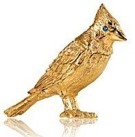 Estee Lauder Pleasures Golden Bird solid perfume compact