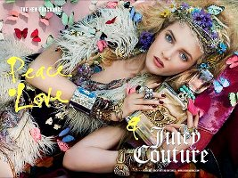 Peace, Love & Juicy Couture advert