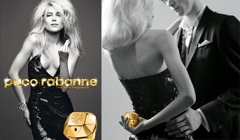 Paco Rabanne Lady Million perfume advert