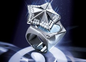 Mugler Show Collection solid Angel perfume ring