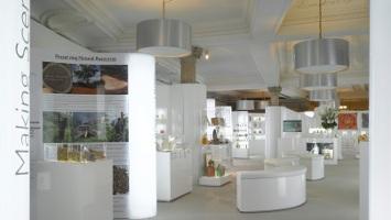 Harrods Perfume Diaries exhibit