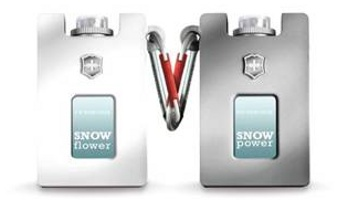 Victorinox Snow Flower & Snow Power