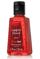 BBW Vampire Blood antibacterial hand gel