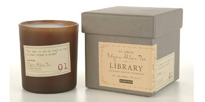 Paddywax Library Collection Edgar Allan Poe Candle
