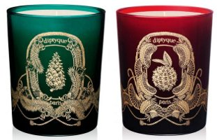 Diptyque 2010 holiday candle collection