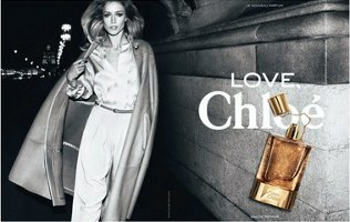 Love, Chloe perfume advert