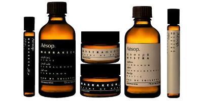 Aesop fragrance line