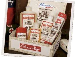 Mayron's Goods cigar box