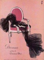 Christian Dior Diorama perfumer advert