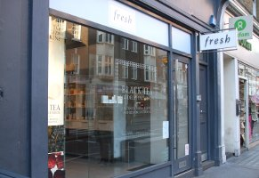 Fresh boutique in London, store exterior