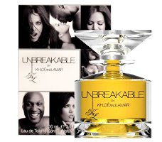 Lamar Odom and Khloé Kardashian Unbreakable fragrance