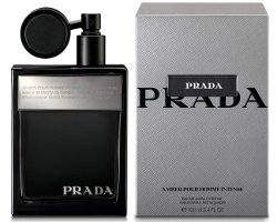 Prada Amber Pour Homme Intense fragrance bottle