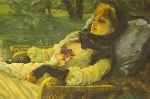 James Tissot The Dreamer