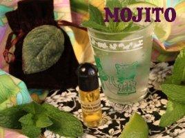 Velvet & Sweet Pea Mojito