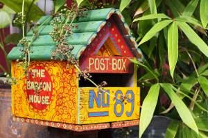 post box, Melaka, Malaysia
