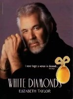 Kenny Rogers for Elizabeth Taylor White Diamonds