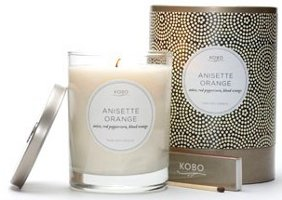 Kobo Anisette Orange soy candle