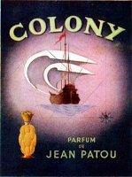 Jean Patou Colony perfume advert